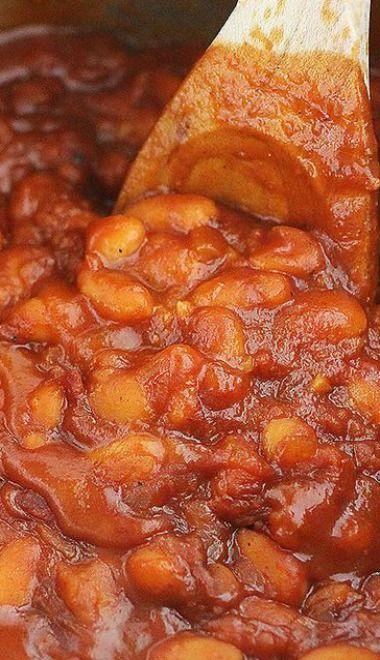 Easy Maple-Bourbon BBQ Baked Beans | Recipe
