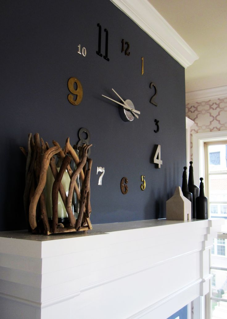 @Lauren Stevens Wall Clock for your apartment. Next future project for the dinning room