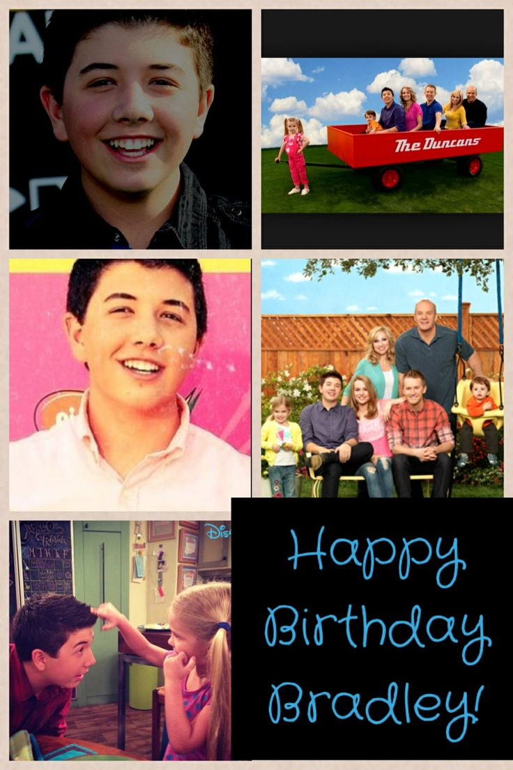 Happy Birthday Bradley Love Good Luck Charlie Gabe Funny
