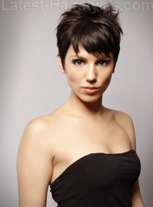 Sassy Short Hair Cool Hairstyles
