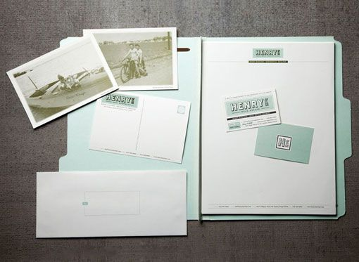 Postcards and folders