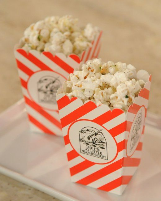 Truffled Popcorn - with truffle oil