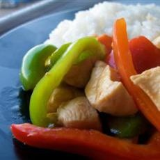 Sweet and Sour Chicken III add sweet and sour bottles sauce