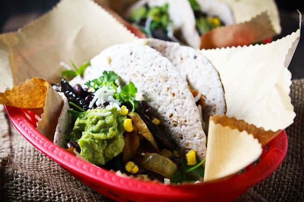 Roasted Portabello Mushroom Fajitas | Food! | Pinterest