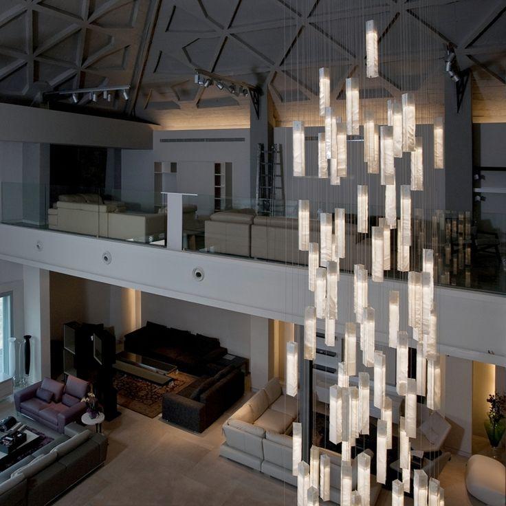 lighting for high ceiling in modern design sales