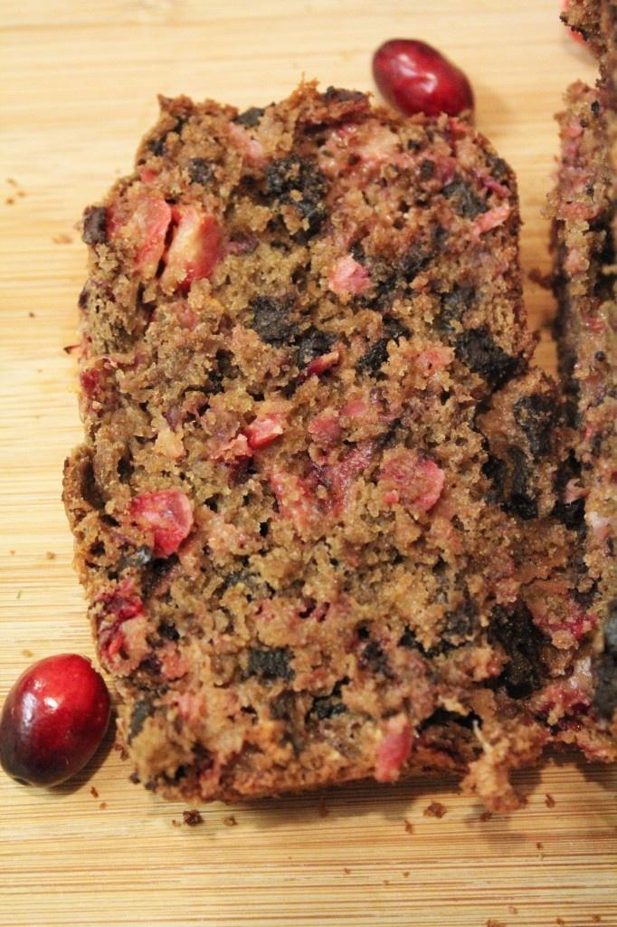 Dark Chocolate Orange cranberry Bread | Ain't She Sweet | Pinterest