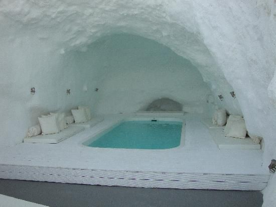 Santorini Cave Pool The Reason Why We Love Greece Pinterest