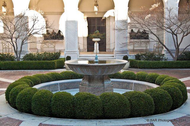 Freer courtyard