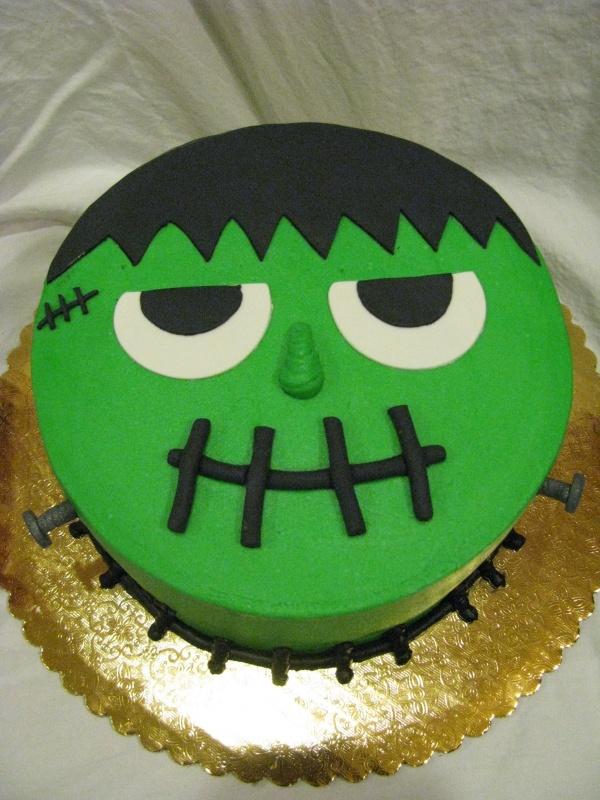 Fun Frankenstein Cake