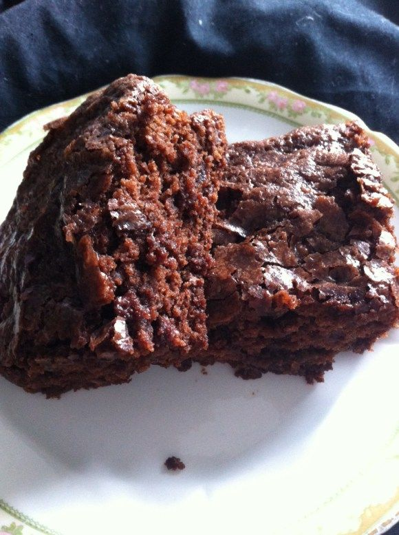 Chocolate Cherry Brownies | Madame Gourmand | Pinterest