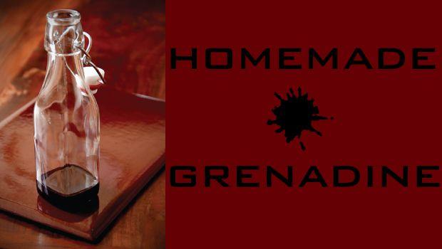Homemade Grenadine