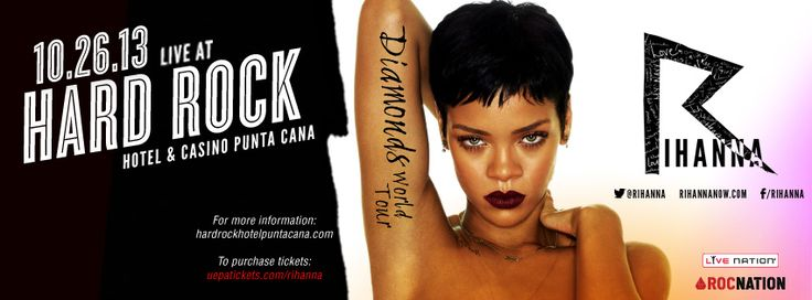 #Rihanna in Punta Cana, #RepDominicana