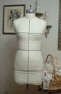 It's Sew Chic: Copy your Figure: A Dressform Tutorial part 1