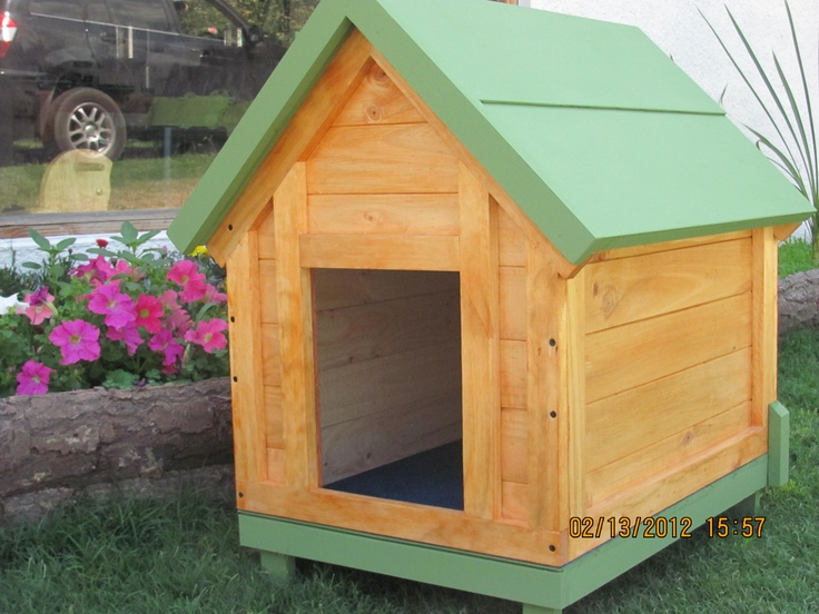 Casas para perros extra grandes 120 mascotas pinterest - Casa de mascotas ...