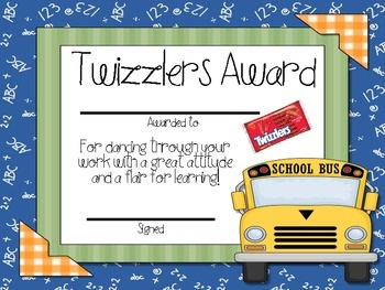 Other candy bar awards | End of School Year! | Pinterest