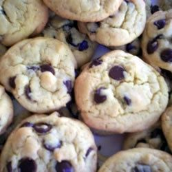 Chip Cake Cookies... Made mine with gluten free vanilla cake mix ...