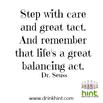 Dr. Seuss Quotes Life Is a Great Balancing Act