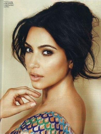 kim kardashian brown eye makeup portraits pinterest