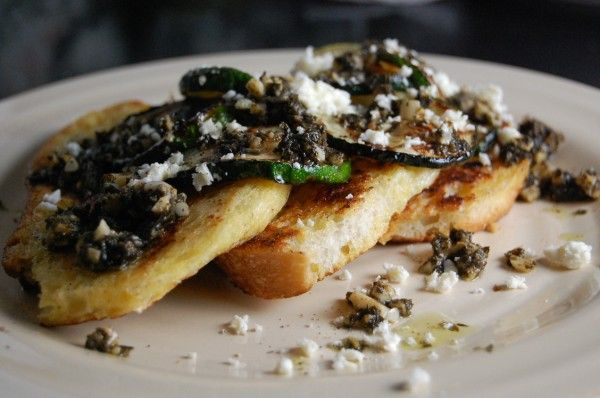 savory zucchini French toast | potential deliciousness | Pinterest