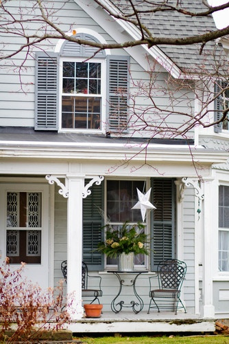 New England Country Porch Design Ideas Pinterest