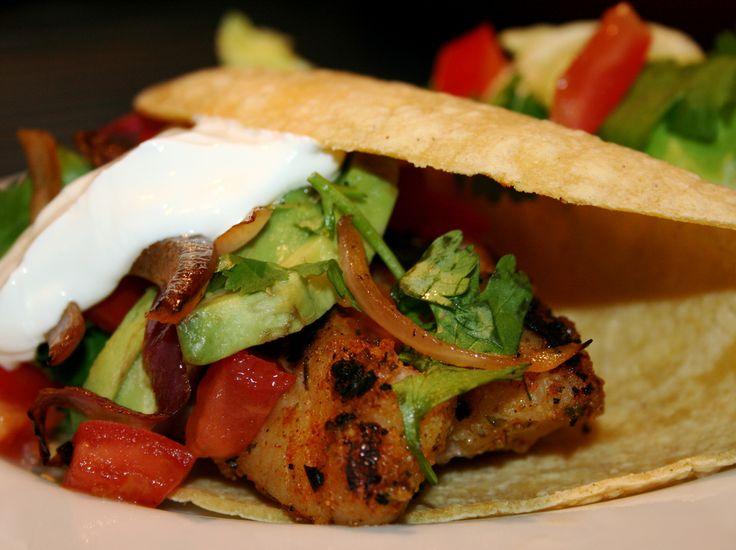 Grilled Fish Taco | Tostados-Tacos-Enchiladas-Quesadillas | Pinterest
