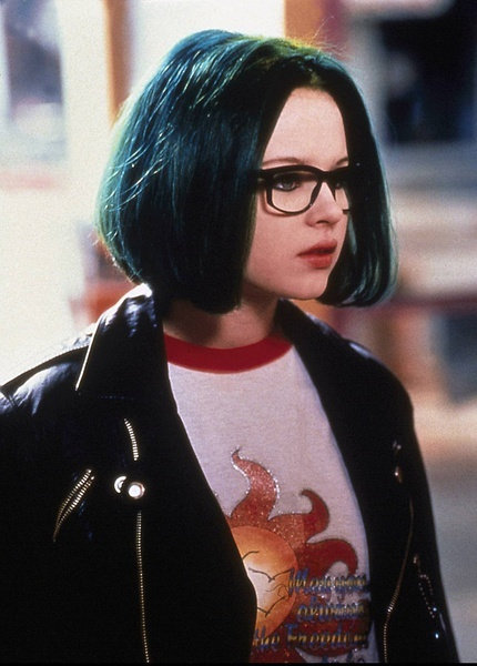 Thora Birch as Enid in  quot Ghost World quot Thora Birch Ghost World Green Hair