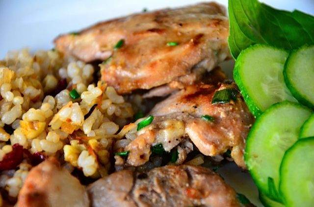 Recipe: Soy and Coconut Milk Chicken Thighs {ReluctantEntertainer.com ...