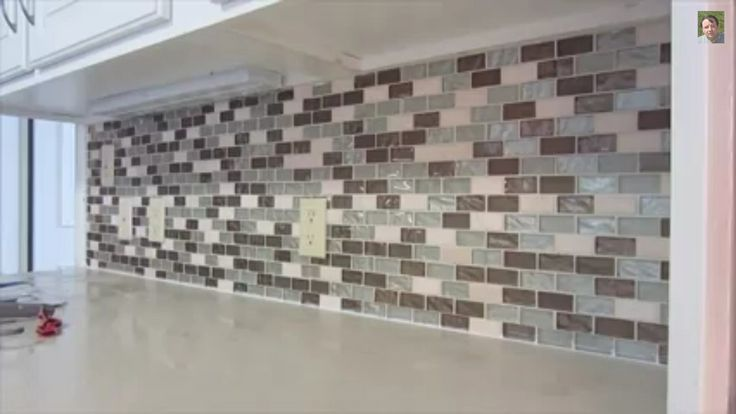 Kitchen backsplash from home depot Home ideas