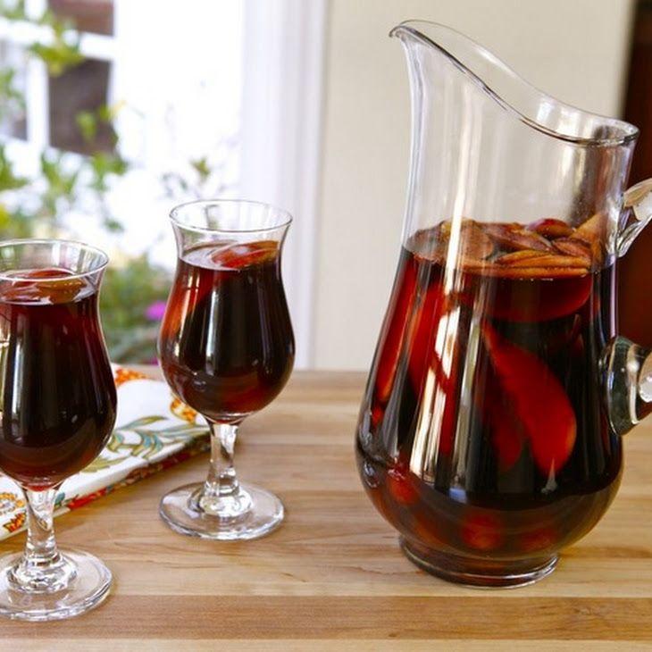 Thanksgiving Cider Sangria Recipe | FOOD & ALCOHOL & FITNESS | Pinter...