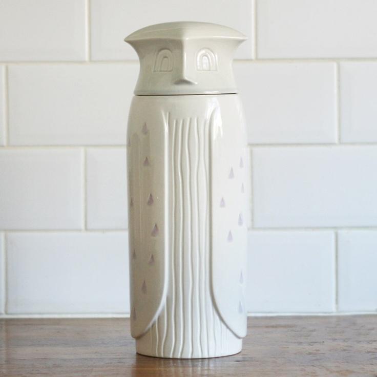 Owl spaghetti jar by Our Workshop