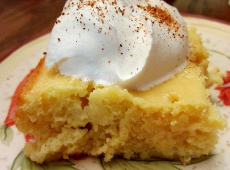 Eggnog Tres Leches Cake | desserts to try | Pinterest