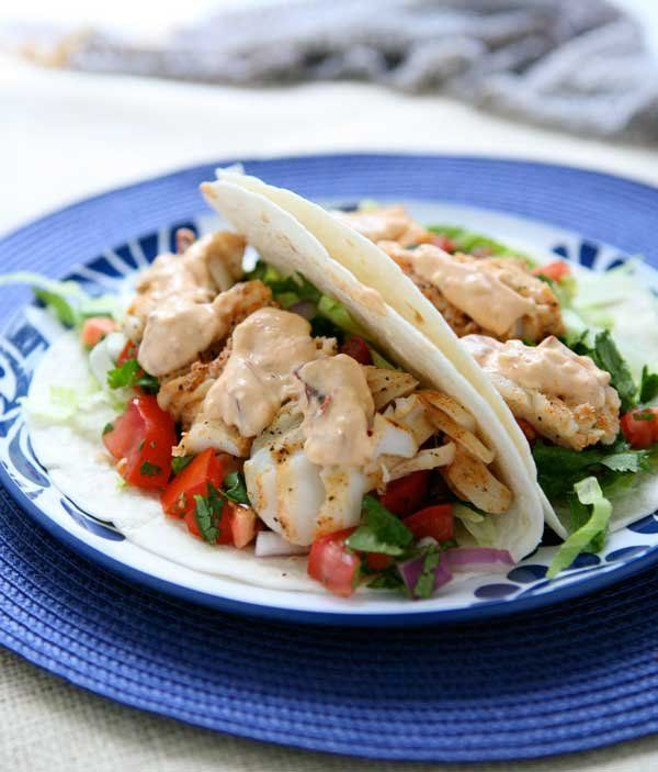 Grilled Fish Tacos | Seafood | Pinterest