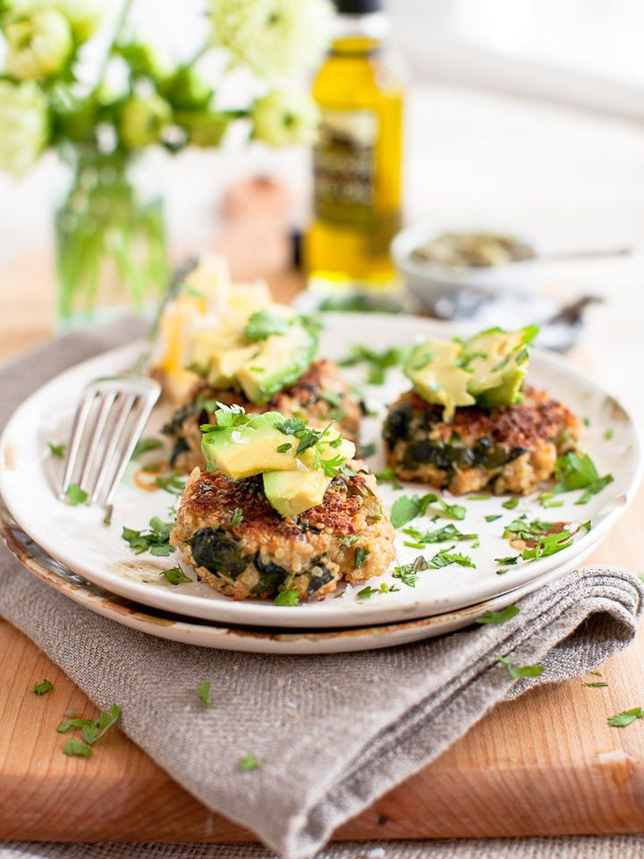 quinoa with kale to make these healthy and crispy Quinoa Kale Patties ...