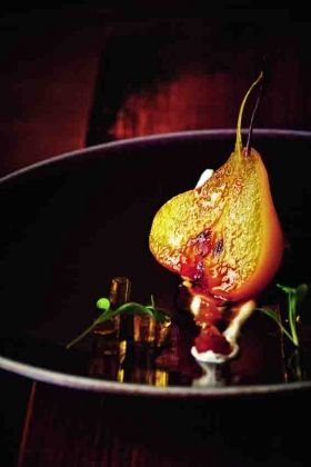 Poached Pears With Cardamom And Saffron Recipes — Dishmaps