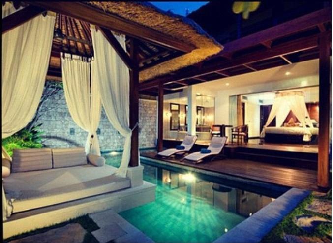 Luxury Home Pool Bedroom For Da Home Pinterest