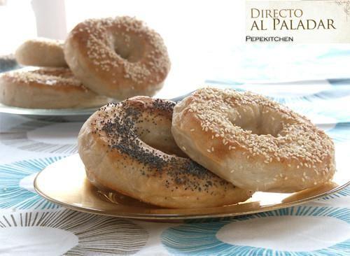 Receta de bagels, rosquillas de pan | Pan | Pinterest
