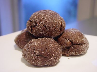 Mayan mystery cookies (chocolate, cinnamon, cayenne pepper)...definite ...