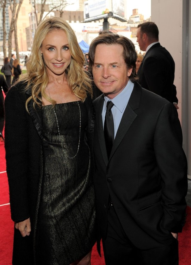 Michael J Fox Tracy Pollan