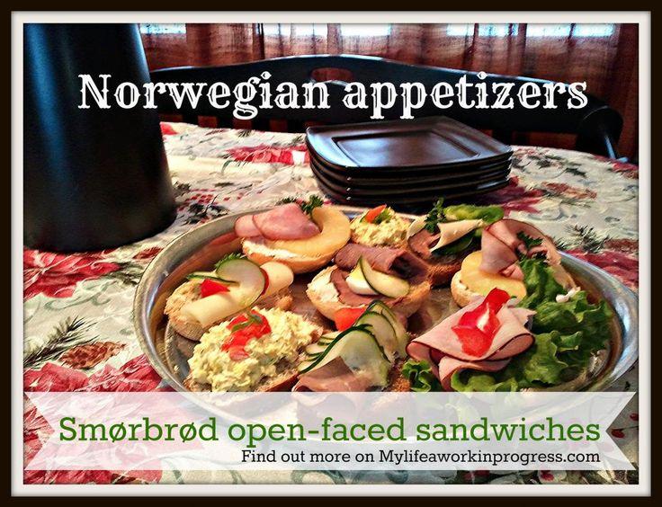 ... Scandinavian smorrebrod open-faced sandwiches American style