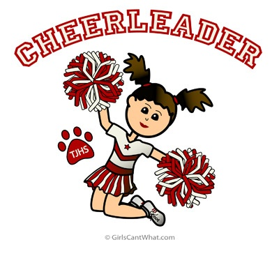 Massif image in free printable cheerleading clipart
