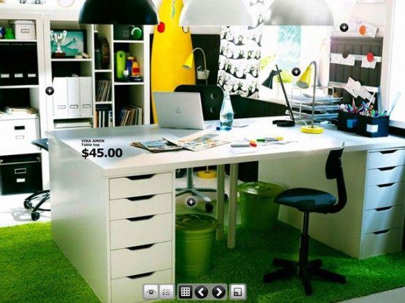 ikea home office home pinterest