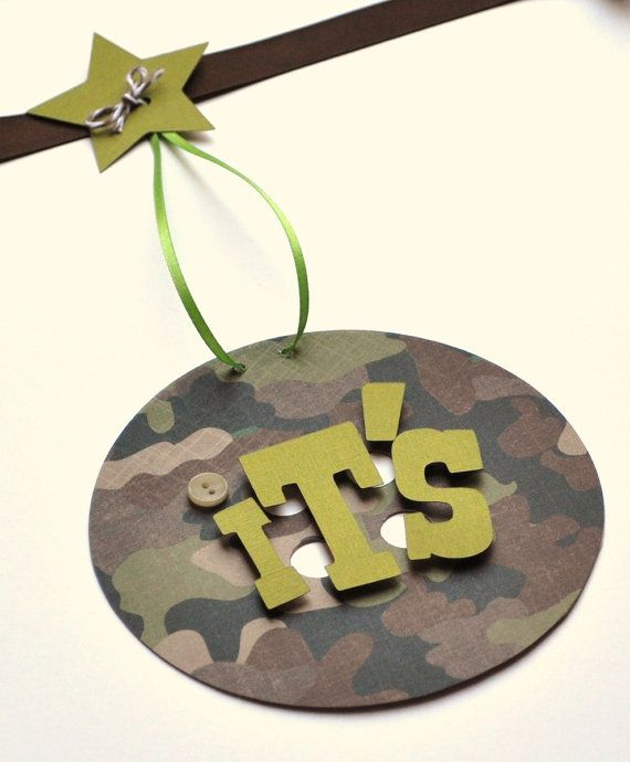 camo baby shower decorations it 39 s a boy banner kayson 39 s baby sh