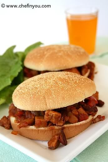 Easy Sloppy Joes Recipe (Vegan) | 12 Weeks of Vegan | Pinterest