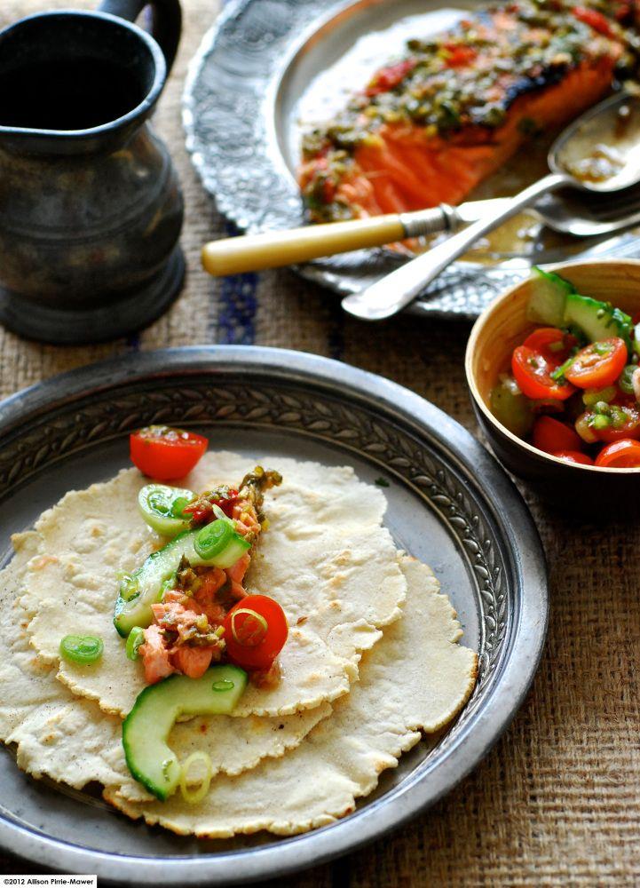 Grilled Tamarind Chicken Tacos Recipe — Dishmaps