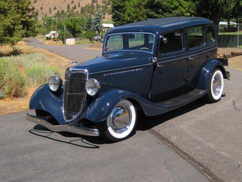 1934 ford 4 door automobiles then now pinterest for 1934 ford door