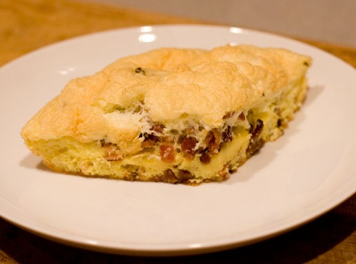 Bacon Souffle Frittata | Paleo Pins | Pinterest