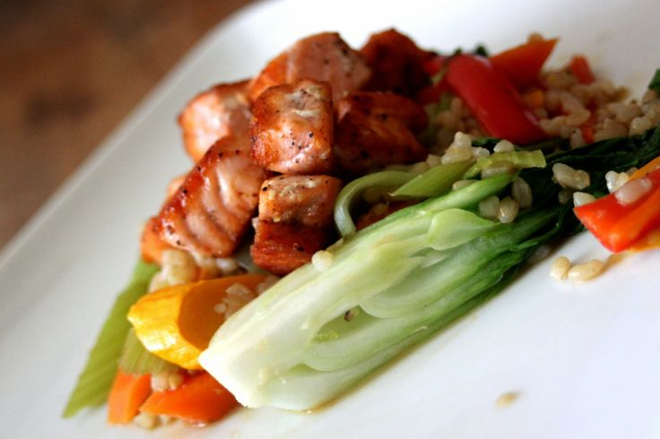 ... , Busy Mom: Ginger Garlic Stir-Fry with Baby Bok Choy and Sear