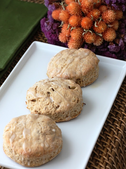 Banana Bourbon Scones with Walnuts | Eat This...Recipes to try | Pint ...