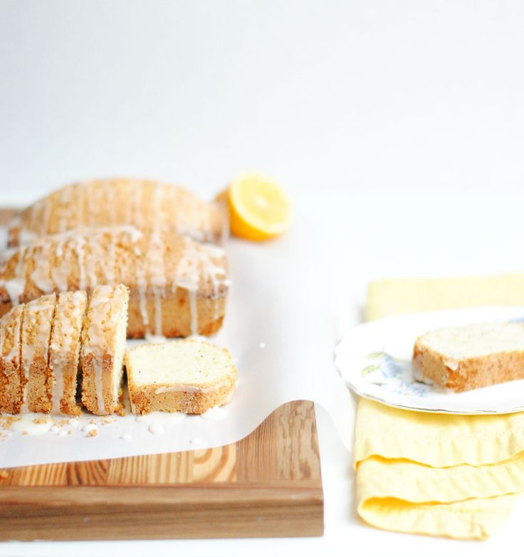 Mini Meyer Lemon Poppy Seed Pound Cakes | Hottie Biscotti #recipe # ...
