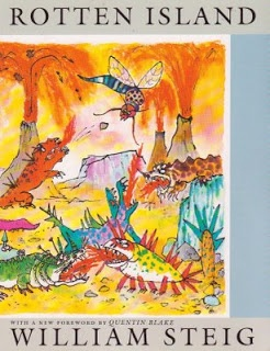 William Steig - The original Rotten Island - The Bad Island from 1969